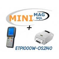 Minimag + Terminale ETP1000W + Stampante OS-2140