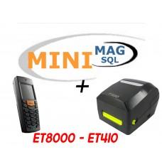 Minimag + Terminale ET8000 + Stampante ET410